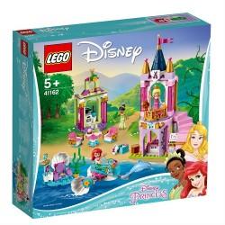 Lego Disney Królewskie przyjęcie Arielki, Aurory i Tiany 41162