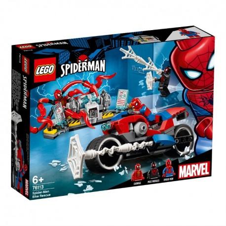 Lego Marvel Pościg motocyklowy Spider-Mana 76113