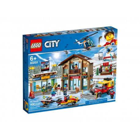 Lego City Kurort narciarski 60203