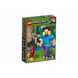 Lego Minecraft™ BigFig Steve z papugą 21148