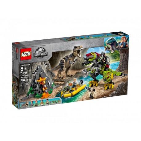 Lego Jurassic World Tyranozaur kontra mechaniczny dinozaur 75938
