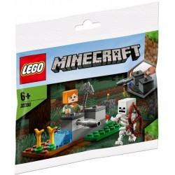Saszetka Lego Minecraft Obrona przed szkieletem 30394
