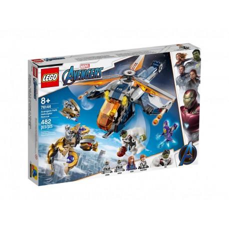 Lego Marvel Avengers: Upadek helikoptera Hulka 76144