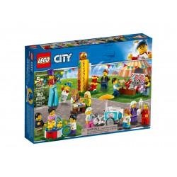 Lego City Wesołe miasteczko — zestaw minifigurek 60234