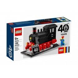 Lego Zestaw z okazji 40-lecia projektu Pociągi LEGO® 40370