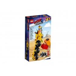 Lego Movie2 Trójkołowiec Emmeta 70823
