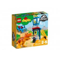 Lego Duplo Jurassic World Wieża tyranozaura 10880