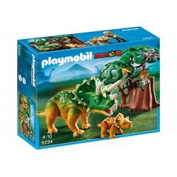 PLAYMOBIL Triceratops z maleństwem 5234