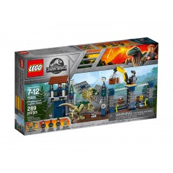 Lego Jurassic World Atak dilofozaura na posterunek 75931