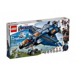 Lego Marvel Wspaniały Quinjet Avengersów 76126