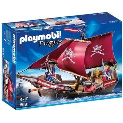 Playmobil Pirates Żaglowiec wojskowy z armatą 6681