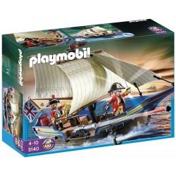 Playmobil Fregata z armatą Czerwonych kurtek 5140