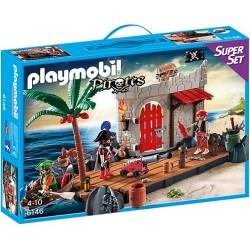 Playmobil Pirates SuperSet Twierdza piratów 6146