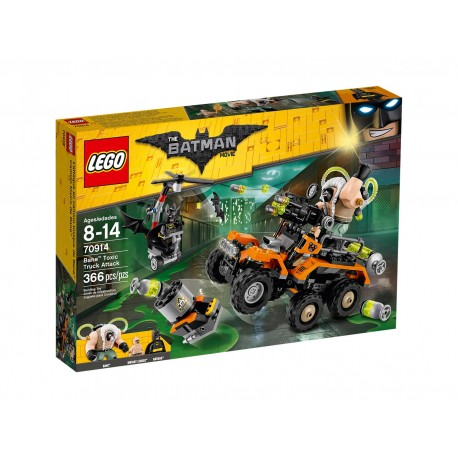 Lego Batman: Bane™ - atak toksyczną ciężarówką 70914
