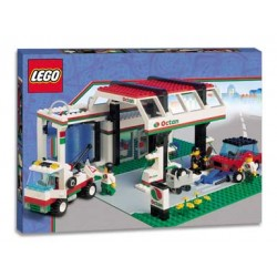 Lego Town - Stacja benzynowa Oktan 6472
