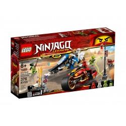 Lego Ninjago Motocykl Kaia i skuter Zane'a 70667
