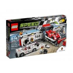 Lego Speed Champions  Porsche 919 Hybrid i 917K Pit Stop 75876