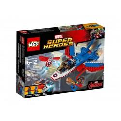 Lego Super Heroes Odrzutowiec Kapitana Ameryki 76076
