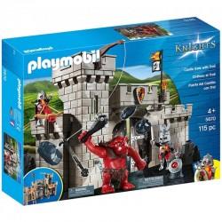 Playmobil Brama zamkowa z olbrzymim trollem 5670
