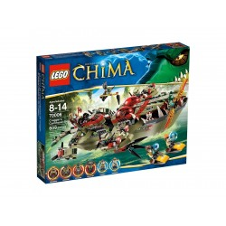 Lego Chima Krokodyla łódź Craggera 70006