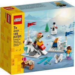 Lego Zimowa bitwa na śnieżki 40424