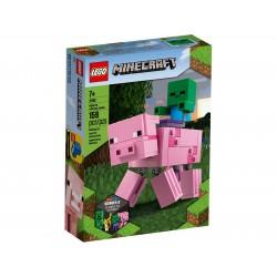 Lego Minecraft™ BigFig — Świnka i mały zombie 21157