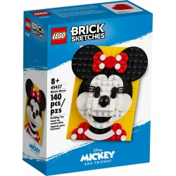 Lego Brick Sketches™ Myszka Minnie 40457