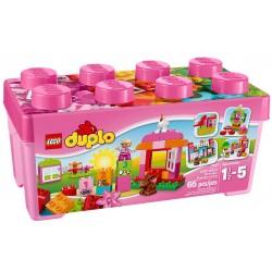 Lego Duplo Zestaw Rózowych Klocków 10571