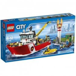 Lego City Łódź Strażacka 60109