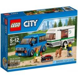 Lego City Van z przyczepą empingową 60117