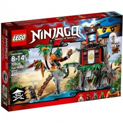 Lego Ninjago Wyspa Tygrysiej Wdowy 70604