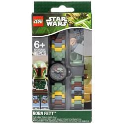 Zegarek Lego Star Wars z figurką Boba Fett