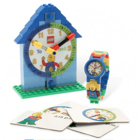 LEGO Zegar i zegarek z serii LEGO Time-Teacher