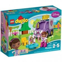 Lego Duplo Klinika dla pluszaków, Karetka 10605