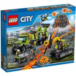Lego City Baza Badawcza Wulkanów 60124