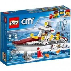 Lego City Łódź rybacka 60147