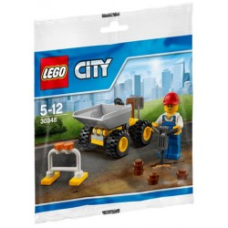 Saszetka LEGO City Mini wywrotka 30348