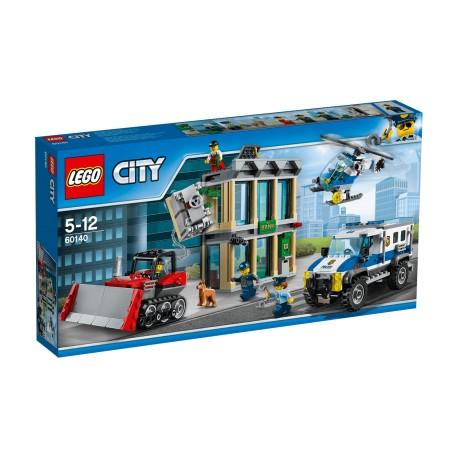 Lego  City Włamanie buldożerem 60140