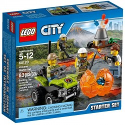 Lego City Wulkan - zestaw startowy 60120