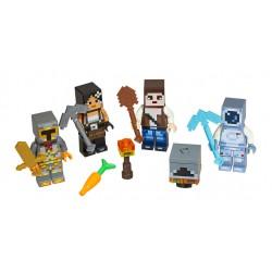 Lego Minecraft - zestaw figurek, 853610