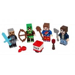 Lego Minecraft - zestaw figurek, 853609